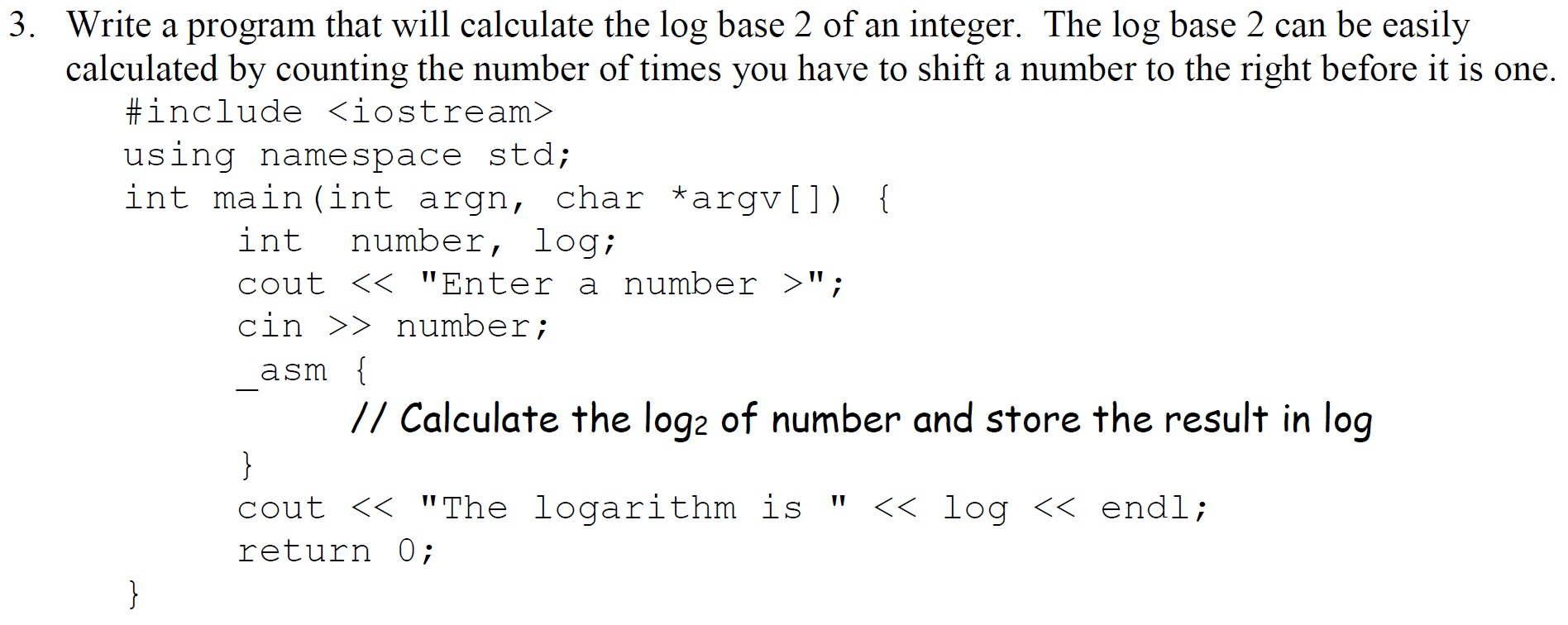 How to write log2 in python