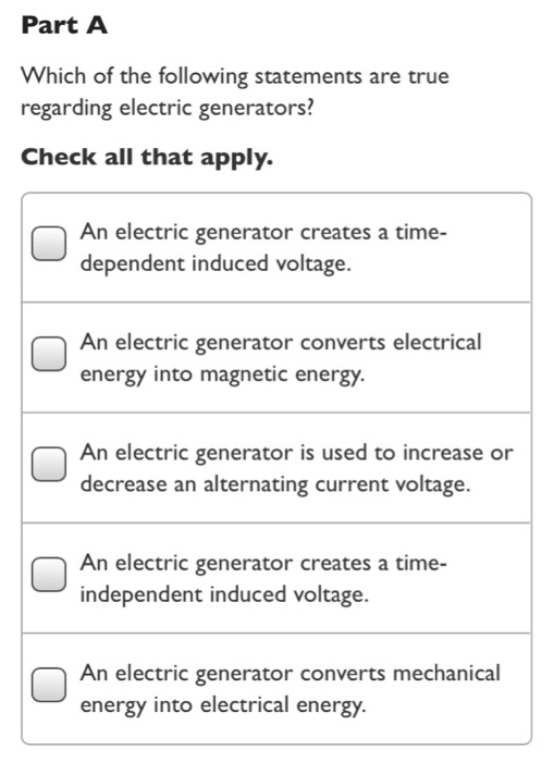 The Electric Generator Essay Sample