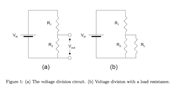 solved  the voltage division circuit  voltage division wit