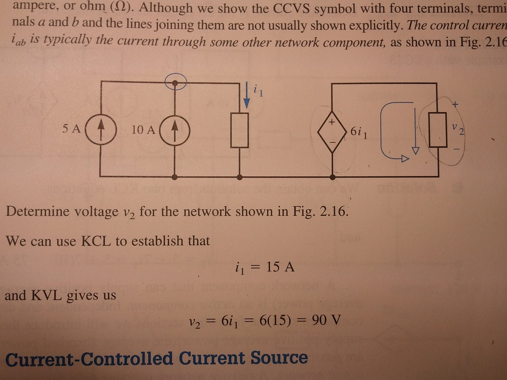 ampere, or ohm ( Ohm ). Although we show the CCVS