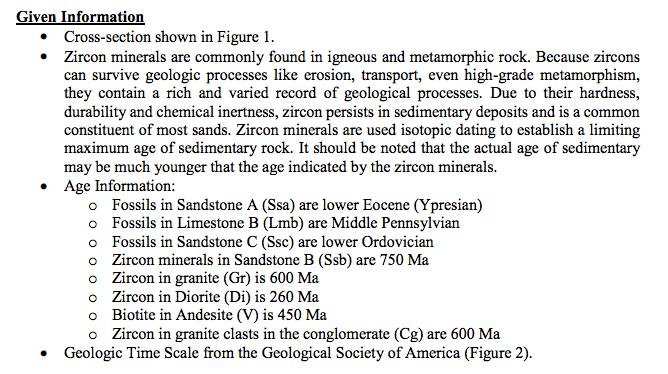 Zircon dating metamorphic rocks information