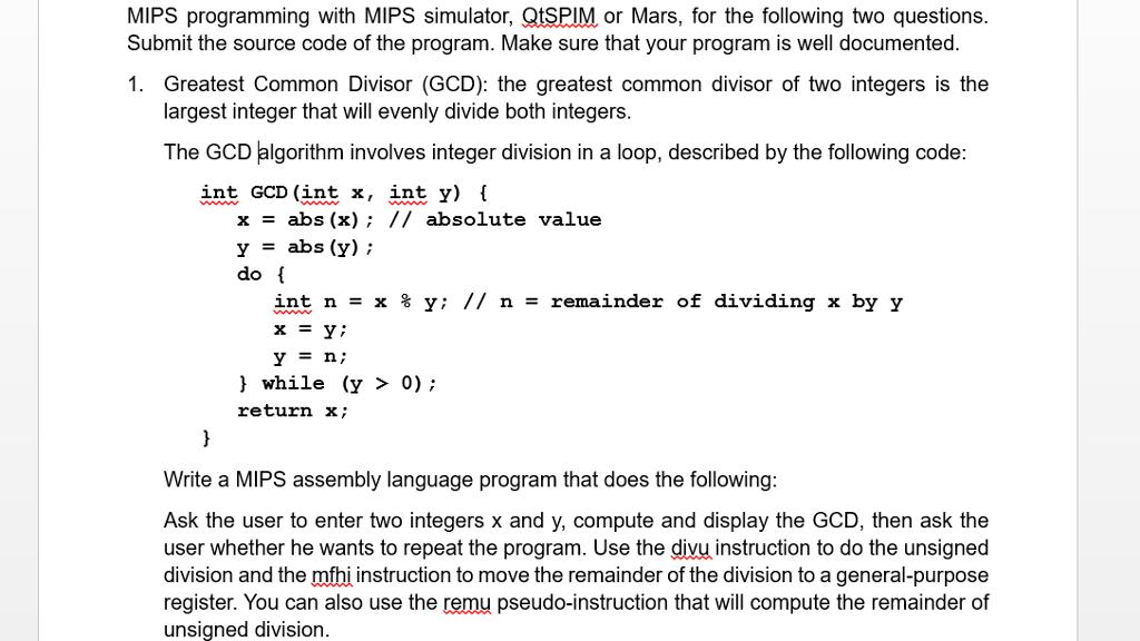 write assembly language program