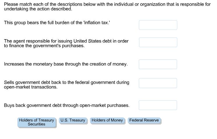 Match Each Type Of Government With Its Description