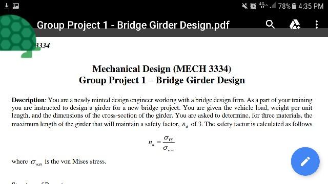 Bridge Design Pdf