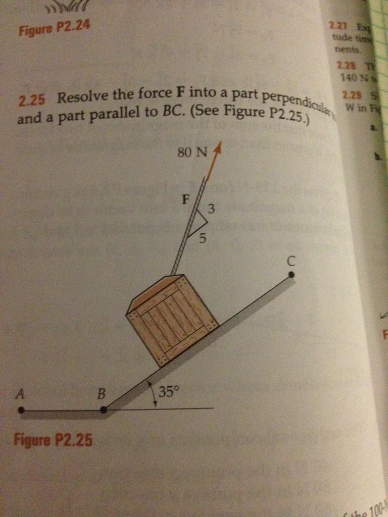 solved problem 2 25 engineering mechanics statics david rh chegg com