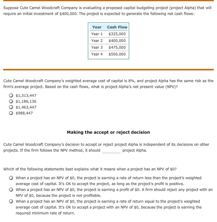 Capital Budgeting Pdf