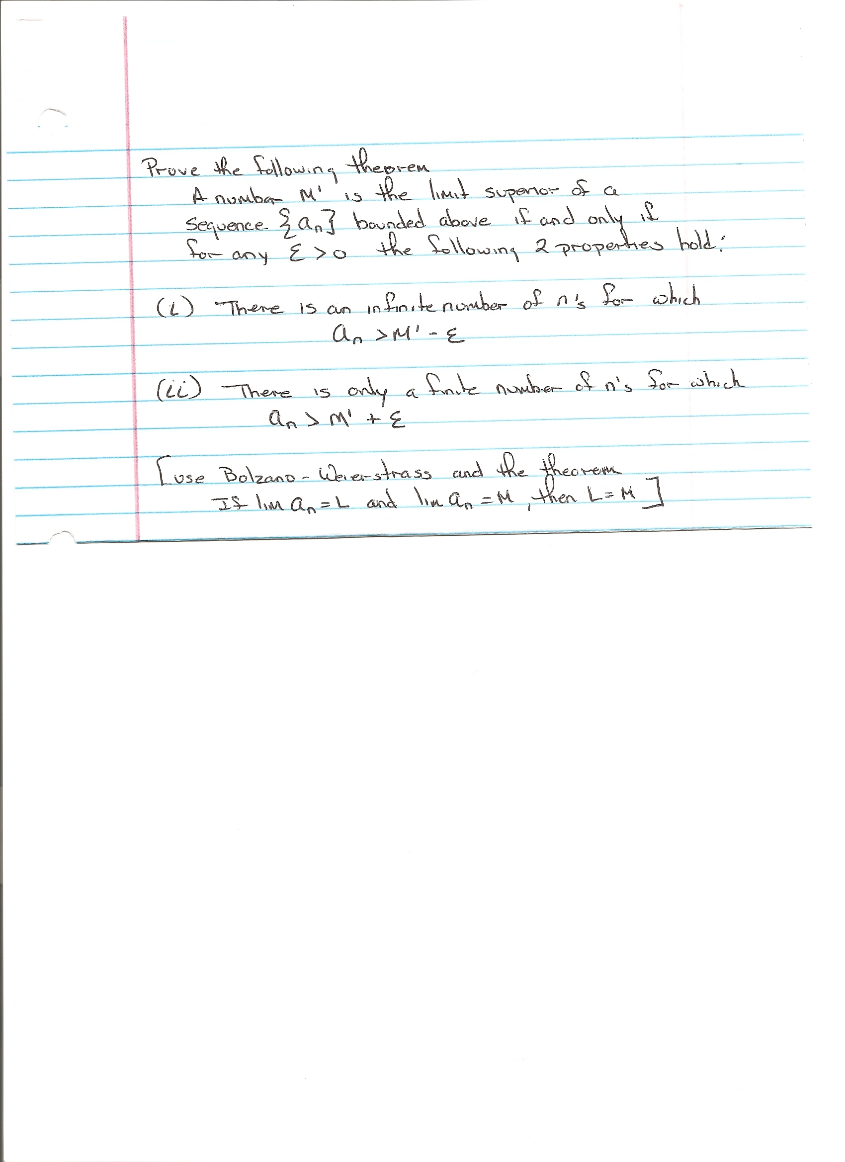 Prove boundedness of a sequence for academic writing