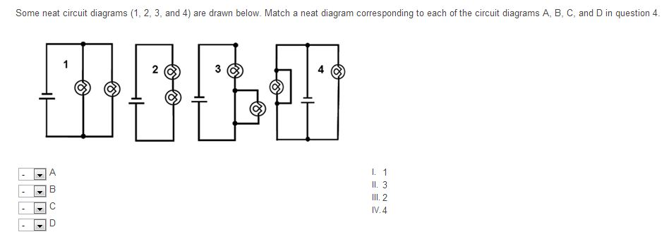 Solved Some Neat Circuit Diagrams 123 And 4 Are Draw
