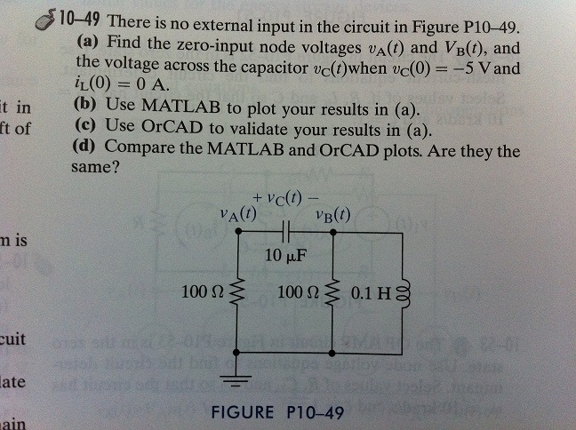 There is no external input in the circuit in Figur