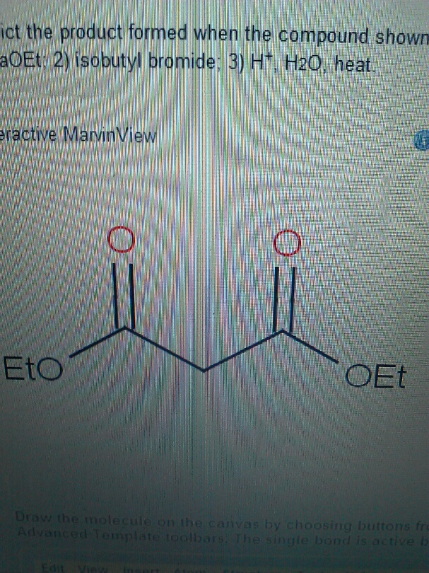 Solved: Predict The Product Formed When The Compound Shown ...