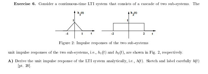 Consider a continuous-time LTI system that consist