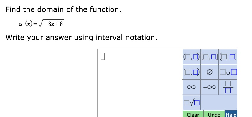 Sl212 communicate in writing answers in interval notation