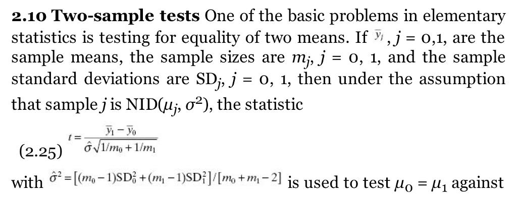 Example Of Statistics Problems