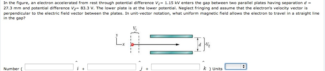 Homework Help: Speed of an electron and potential difference