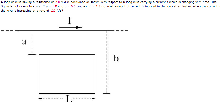 Solved: A Loop Of Wire Having A Resistance Of 2.0 M Ohm Is ...
