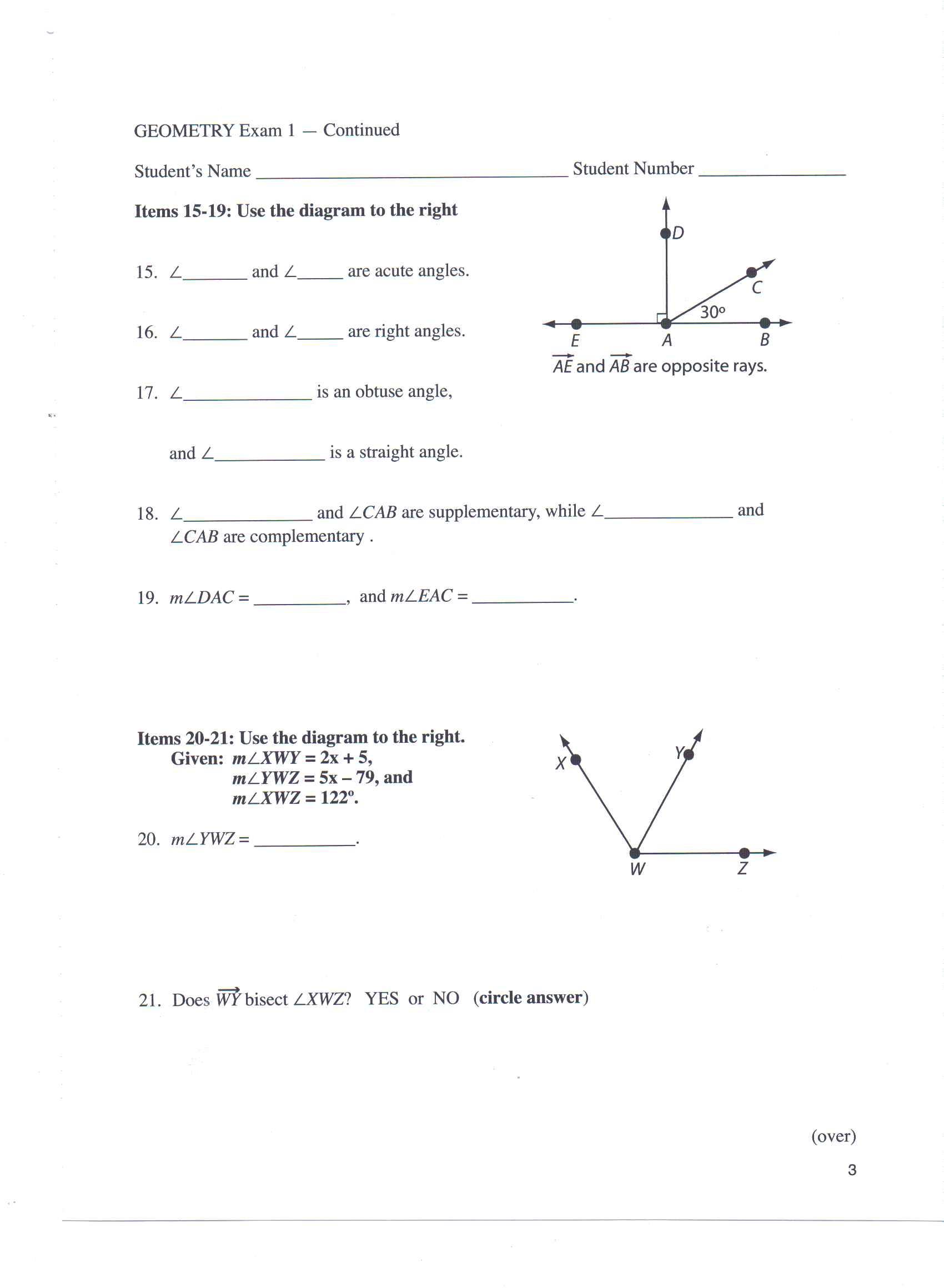 Mr. Nussbaum Math Angles Activities