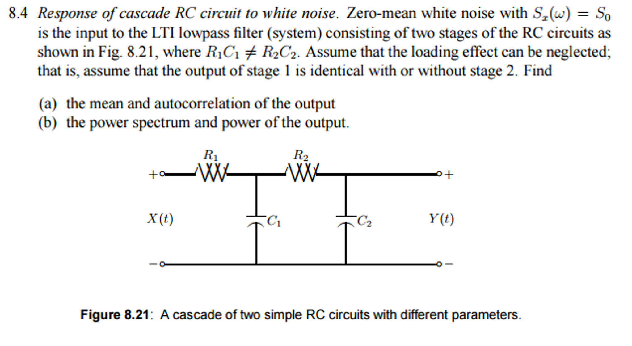 Figure One A Simple Filter Circuit