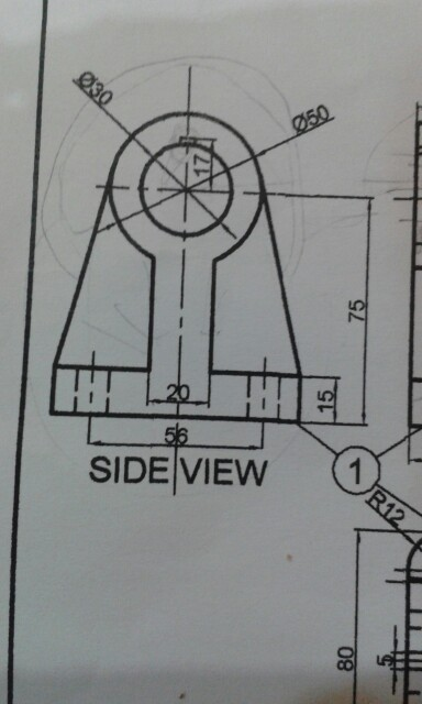 N Home Front Elevation Pictures : Draw assembly drawing of photo all photos for one