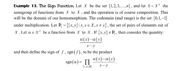 Algebra of pinter a book abstract