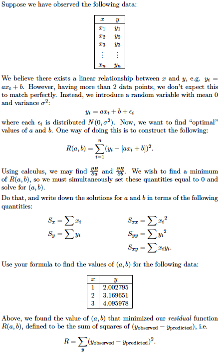 linear relationship articles and advice