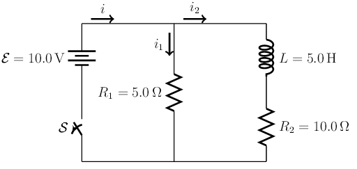 solved  an inductor of inductance l is connected in the ci