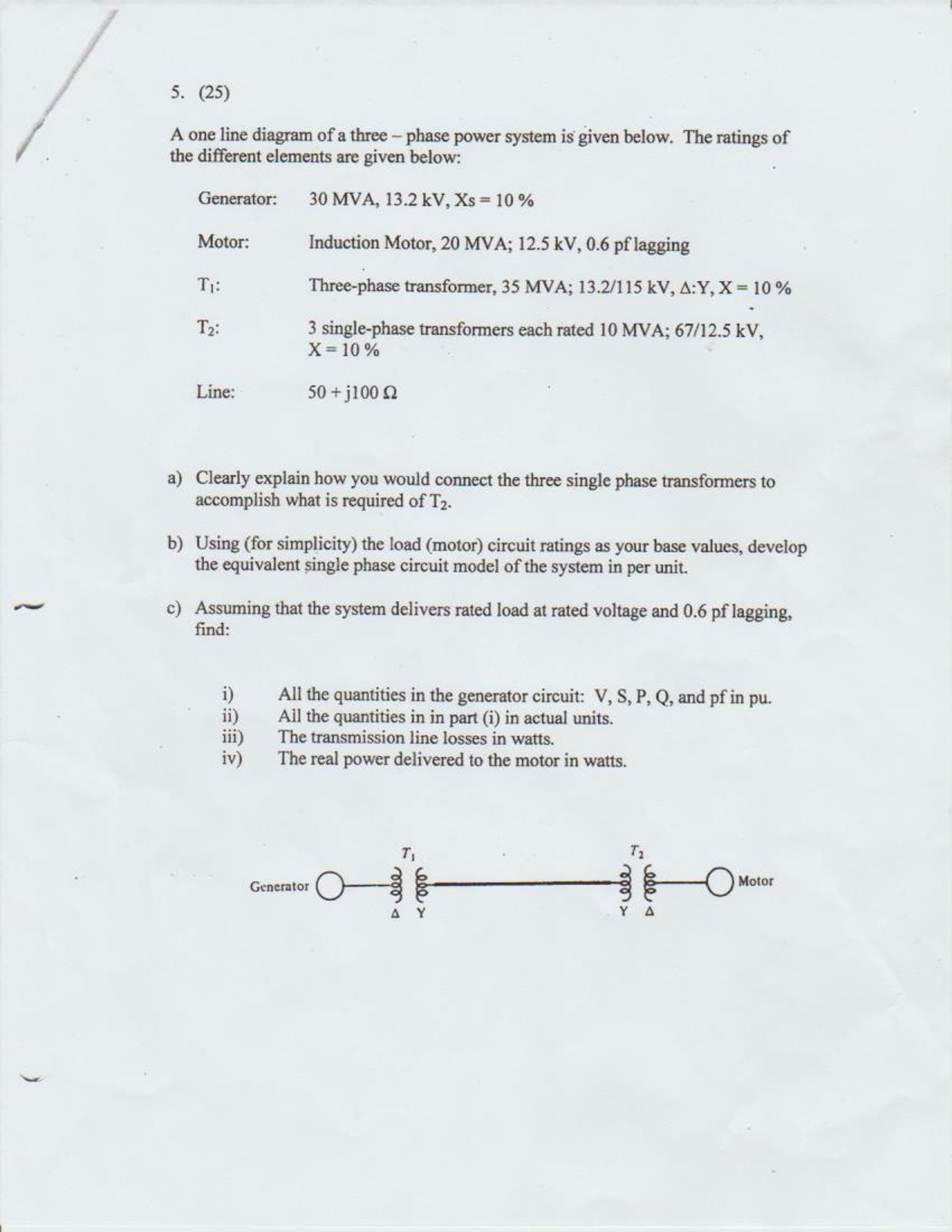 Phase Motor Wiring Diagram Connection Diagram Special Single Phase