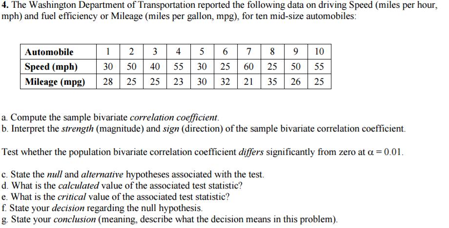 An essay on bivariate analysis
