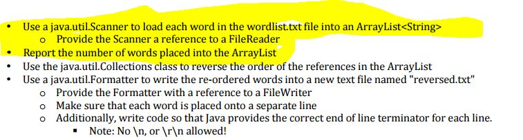 Write arraylist to file in java line by line
