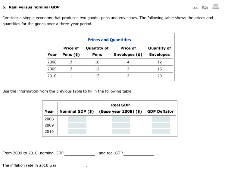 why do economists use real gdp rather than nominal gdp to gauge economic well being Why do the economists use real gdp rather than nominal gdp to gauge economic well-being why do people like to use nominal gdp rather than ppp gdp to measure.