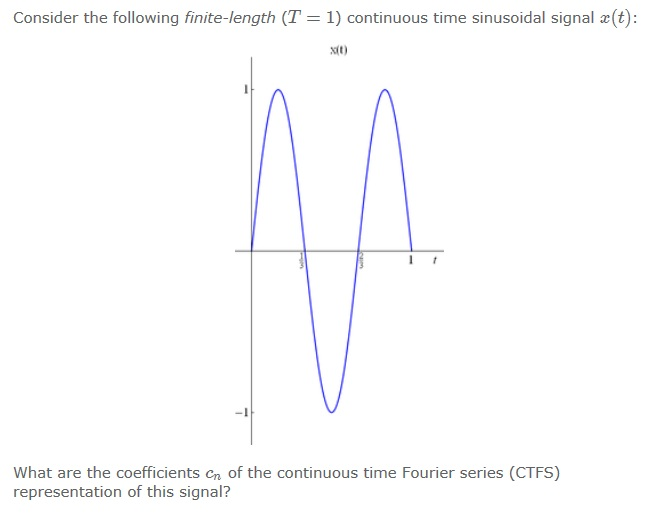 Consider the following finite-length (T = 1) conti