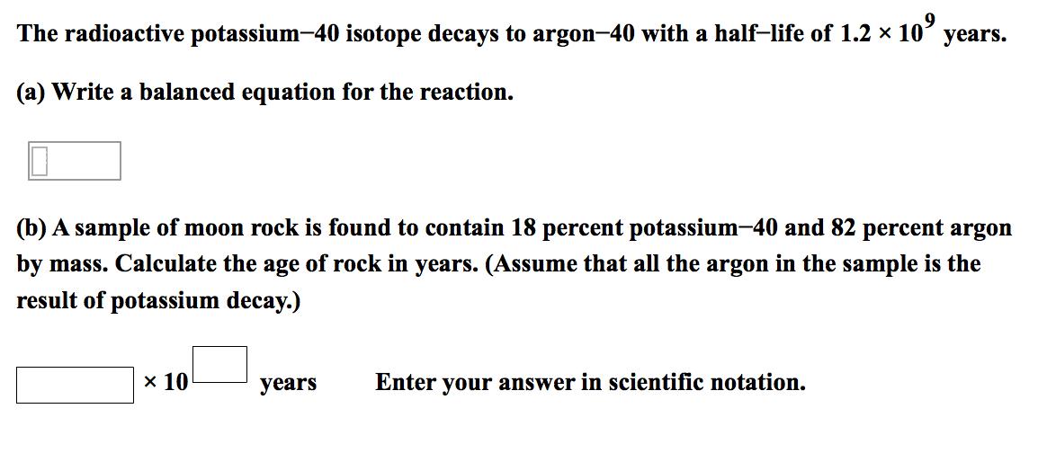 Potassium-40