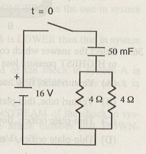 For the circuit shown below, the expression for th
