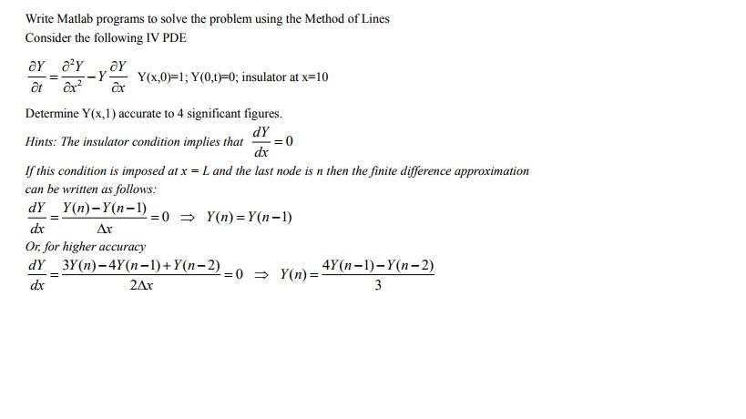 writing a fea program using matlab