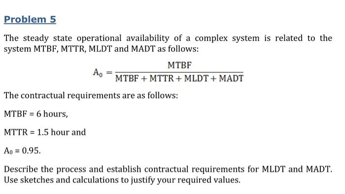 mttf and mtbf relationship quiz